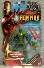 TITANIUM MAN ACTION FIGURE - MARVEL STUDIOS IRON MAN THE ARMORED AVENGER - 6""