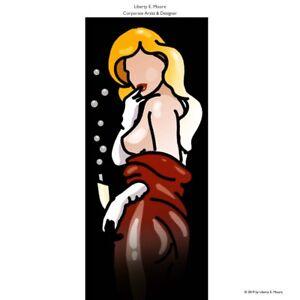 "L.E.MOORE ""Lulu - Sparkling Night"", 70 x190 cm, bitte lesen/please note!"