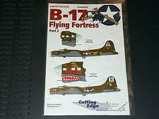 Cutting Edge decals 48282 1/48 B-17 Flying Fortress partie 2