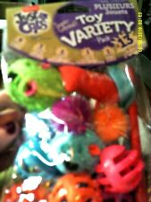 HARTZ...JUST CATS...SUPER COLLOSAL TOY VARIETY PACK...13 PIECES
