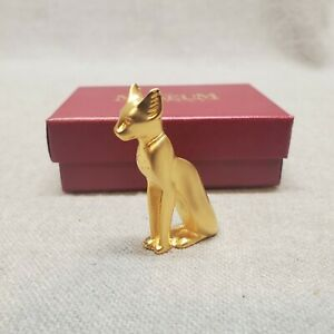 Vintage The Museum Company Egyptian Cat Figure