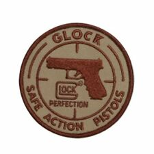 GLOCK SAFE ACTION PISTOLS IRON ON PATCH HANDGUNS REVOLVERS PISTOLS