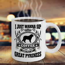 Great Pyrenees,Great Pyrenees Dog,Pyrenean Mountain Dog,Pyr,Pmd,Mugs,Cup