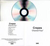 CREPES Channel Four 2017 UK 10-trk promo test CD