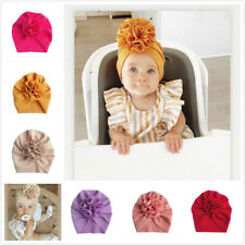Handmade Baby Infant Girls Floral Bow Headband Toddler Knot Hair Band Head Wrap