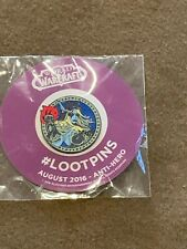 Loot Crate Exclusive World of WarCraft WOW August 2016 Anti-Heo Pin NEW MIP