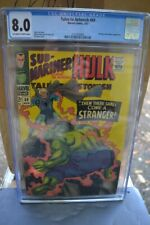 Tales to Astonish #89   (CGC 8.0) (OW/W Pages) (1967) Hulk vs. The Stranger