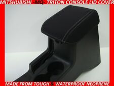MITSUBISHI TRITON MQ  NEOPRENE  CONSOLE LID COVER (WETSUIT MATERIAL)MAY2015-NOW
