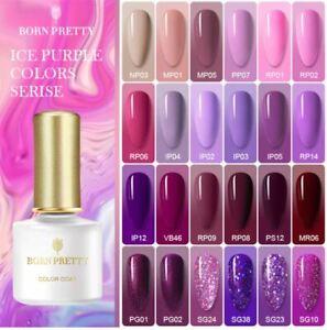 6ml BORN PRETTY UV Gel Polish Nail Art Soak Off LED Gel Varnish Decor Nail Art