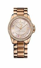 Juicy Couture Ladies Stella Rose Stone Set Bracelet Watch 1901077