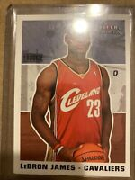 2003-04 FLEER TRADITION Lebron James ROOKIE RC #261 Lakers Cavs BGS PSA Ready🔥