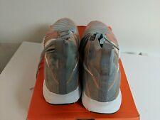 7f47014402a0 Mens Nike Free Train Force Flyknit Sz 12 Wolf Grey White Total Orange NEW