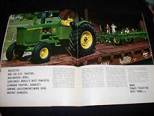"Dec 1965 John Deere Furrow ""66"" Power Train Catalog 1020 2020 2510 5020 Tractor"