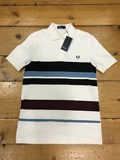 Fred Perry Oxford Pique Shirt M2584 Aubergine - Small
