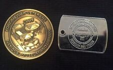 "Korean War Veterans "" The Forgotten Victory "" National Museum & Library Medallio"