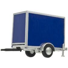 Blue Single-Axle Standard Trailer HO - Atlas #60000102