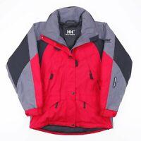Vintage HELLY HANSEN Red Hooded Outdoor Jacket Men's Size Medium