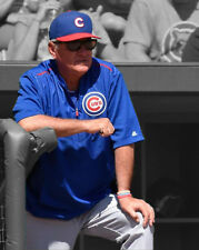 Chicago Cubs JOE MADDON Glossy 8x10 Photo Baseball Print Spotlight Poster
