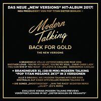 MODERN TALKING - BACK FOR GOLD   CD NEW