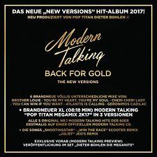 MODERN TALKING - BACK FOR GOLD   CD NEW+