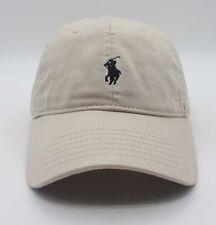 Polo Hat Baseball Cap Classic Small Pony Casual Caps Sport Tennis Golf Beige