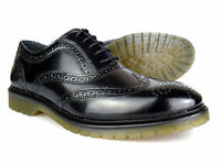 Red Tape Colworth Black Patent Leather Mens Formal Brogues Free UK P&P RRP �50!