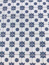 Laminated Tile Sheet Flooring Blue & White (2) Dolls House Miniature