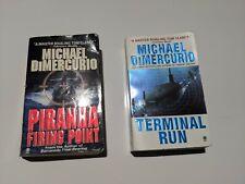 Lot of 2 MICHAEL DIMERCURIO Terminal Run / Piranha Firing Point
