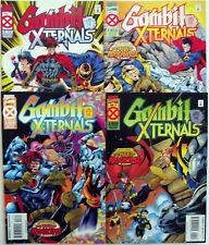 GAMBIT & X-TERNALS 1,2,3,4 (1-4)...1995...NM-...Age of Apocalypse!...Bargain!