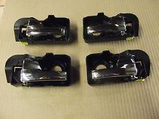 FORD Mondeo MK3 2001-07 Set 4 Interior cromo maniglie interne aggiornamento