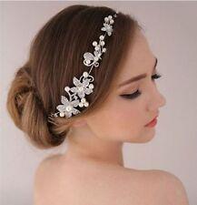 Wedding Bridal Headband Headpiece Tiara Party Rhinestone Bride Hair Accessories