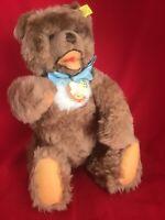 Steiff Cozy (Cosi) Bear, Teddy Bear -circa 1968-70s - Caramel Color 11.8 inches