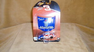 1/64 DIE CAST NASCAR WINNER'S CIRCLE 1996 CHEVY # 3 OLYMPIC CAR   DALE EARNHARDT