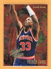 1994-95 Fleer Patrick Ewing Super Star #2 New York Knicks