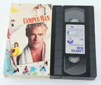 Campus Man VHS 80s Morgan Fairchild John Dye 1987 Comedy