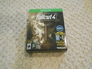 Xbox One Fallout 4 Best Buy Gold Bundle Empty Box only, No Game, No Socks!