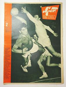 DDR Sport im Bild 2 / 1962 Erland Kops in Tröbitz Badminton Olympia 1964 !