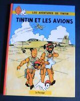 TINTIN Etude. TINTIN ET LES AVIONS.Hors Commerce cartonné 54 pages. Par AIrgé