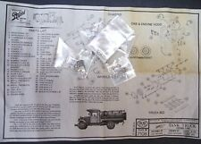 RARE -  Scale Structures Ltd - HO Scale - #7108 TANK TRUCK w/closed cab