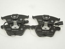 Audi A8 D3 D4 Set Front Brake Pads For 323x30mm Discs New Genuine 4E0698151M