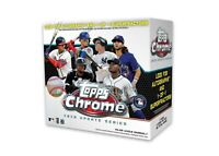 2020 Topps MLB Chrome Updates Baseball Trading Card Mega Box (Lot Of 2)PreOrder