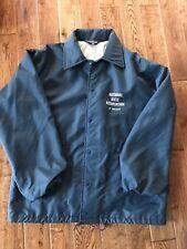 National Rifle Association America NRA Blue Parka Jacket 1985 USA Roberts Team