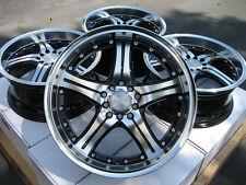 "17"" Effect Wheels Rims 5x110 Cobalt HHR Malibu Saab 93 95 Saturn Astra Aura Ion"