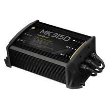 Minn Kota 1823155 15A 3-Bank Digital On-Board Battery Charger