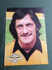 KENNY HIBBITT - WOLVES -1 PAGE PICTURE- CLIPPING/CUTTING