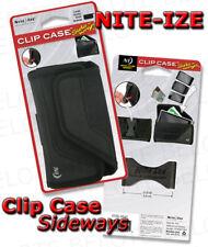 Nite Ize LARGE Clip Case Sideways Black CCSL-03-01 NEW