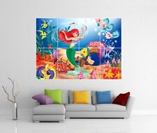 DISNEY THE LITTLE MERMAID GIANT WALL ART PICTURE PRINT PHOTO POSTER J108