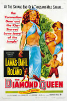 The Diamond Queen Arlene Dahl vintage movie poster