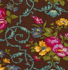 Jennifer Paganelli Sis Boom West Indies Velentina Fabric in Cocoa JP50