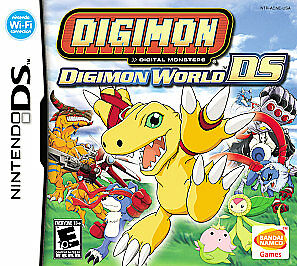 Digimon World DS (Nintendo DS, 2006) GAME CARTRIDGE ONLY, CLASSIC RPG ADVENTURE